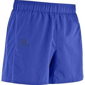 "Salomon Agile Running Shorts Men 5"" blue"